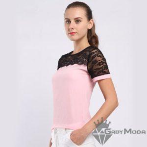 Атрактивни дамски блузи с дантела