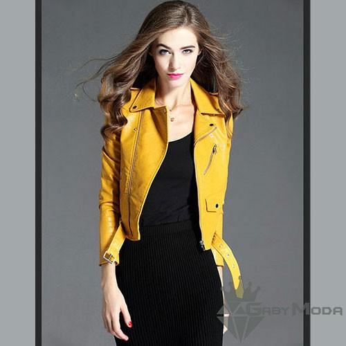 Дамски кожени якета 12