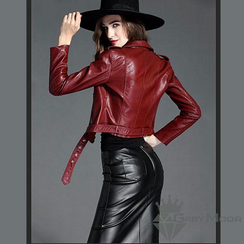 Дамски кожени якета 1