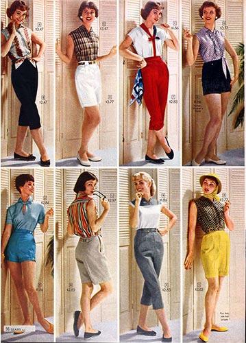 Дамски блузи от миналото