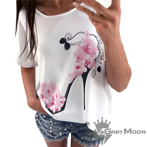 Дамски тениски с апликация