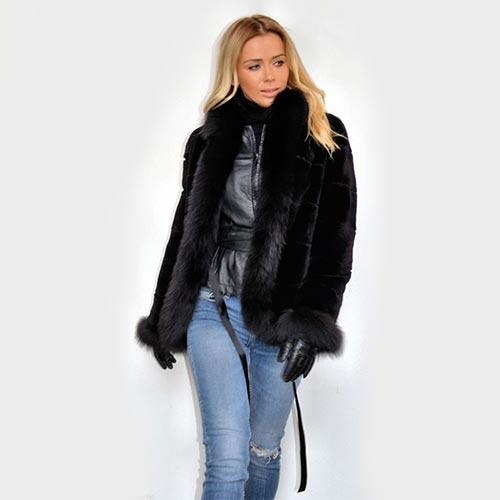 Пухени дамски якета