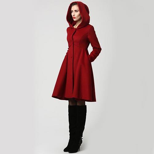 Вълнени дамски якета