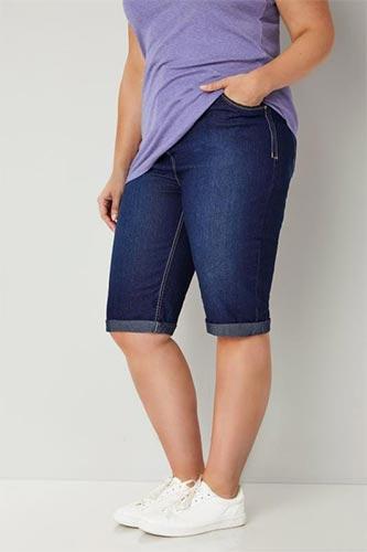 Дамски къси панталони за паднало дупе