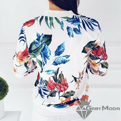 Дамски якета с флорален принт