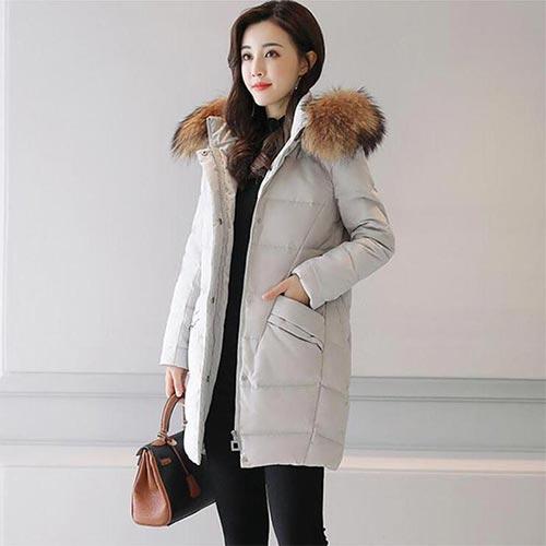 Дамски зимни якета от полиакрил