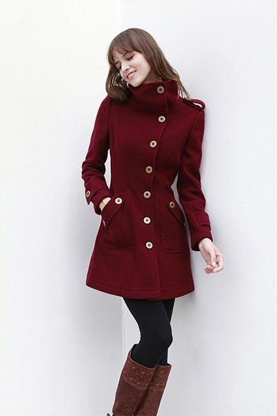 Дамски зимни якета от кашмир
