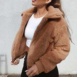Дамски зимни якета от вълна
