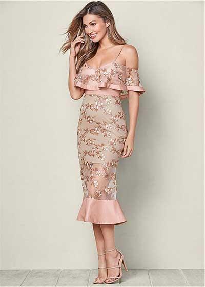 Летни рокли с рози
