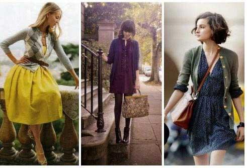 Летни рокли с жилетка